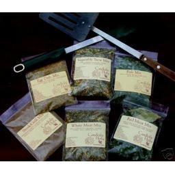 Herb Cooking Mixes. Flavours you will Rave about
