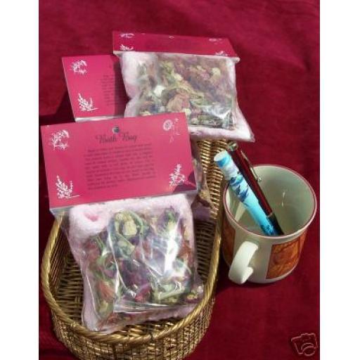 Bath Bag. Gift / Aromatic / Indulgent Luxury - bootiful